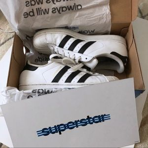 Adidas women's superstar sneakers